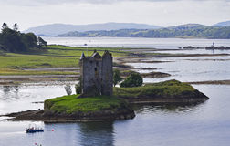 Assediador do castelo Foto de Stock Royalty Free