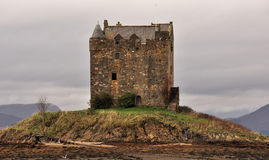 Assediador do castelo, loch Linnhe, Scotland Imagens de Stock