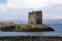 Assediador do castelo, Scottland Imagens de Stock