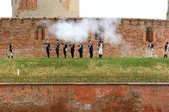 Assediamento posta WisÅoujÅcie Fotografia Stock Libera da Diritti