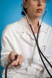 Assegno di pressione sanguigna Immagini Stock