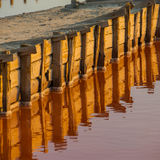 Asseguração de represas artificiais imagem de stock