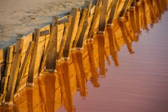 Asseguração de represas artificiais foto de stock royalty free