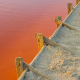 Asseguração de represas artificiais foto de stock