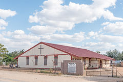 Assemblée d'éloge d'église de Dieu dans Tsumeb Images stock