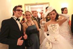 Assemblée de noblesse de Moscou de bille de source Image libre de droits