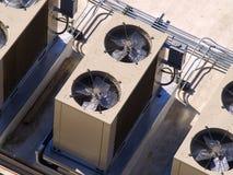 Assemblée de refroidissement de construction Photographie stock