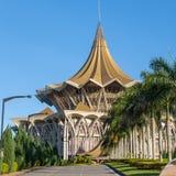 Assemblée législative d'état de Sarawak Photographie stock libre de droits