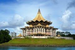 Assemblée législative d'état de Sarawak dans Kuching Photo stock