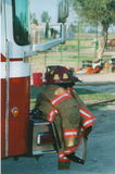 Assemblées sur la pompe à incendie Photos libres de droits