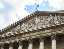 Assemblée Nationale in Paris Royalty Free Stock Images