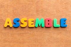 Assemble Stock Photo
