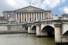Assemblea nazionale francese a Parigi, Francia fotografia stock