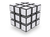Assembled 3x3 cube Stock Photography