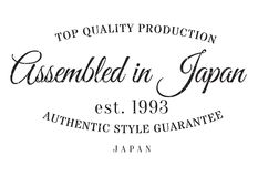 Assembled in Japan rubber stamp Stock Images