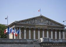 assemblee nationale巴黎 免版税库存照片