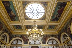 Assemblee nationale, hotel de Lassay, Paris France Royalty Free Stock Photos