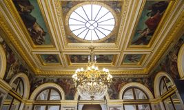 Assemblee nationale, hotel de Lassay, Paris France Royalty Free Stock Images