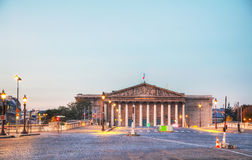 Assemblee Nationale National Assembly in Paris, France Stock Photography