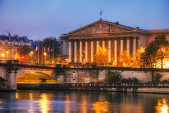 Assemblee Nationale National Assembly in Paris, France Royalty Free Stock Images