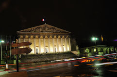 Assemblee Nationale (Palais Bourbon) Stock Photography