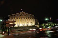 Assemblee Nationale (Palais Bourbon) stock photography