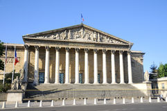 Assemblee Nationale royalty free stock photos
