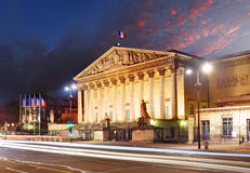 Assemblee Nationale (Palais Bourbon) - the French Parliament, Pa Stock Photography