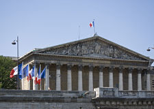 assemblee nationale Paris Zdjęcia Royalty Free