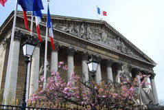 Assemblee Nationale, Paris Royalty Free Stock Photography