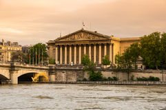 Assemblee Nationale in Paris Royalty Free Stock Photos