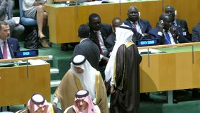 Assembleia geral de United Nations filme