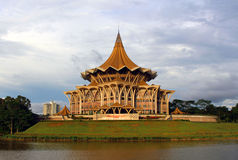 Assembleia legislativa do estado de Sarawak Fotos de Stock