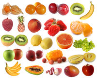 Assembling of delicious fruit Royalty Free Stock Photos