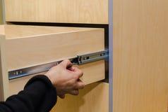 Assembling of furniture closeup Stock Photography