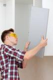 Assembling furniture Stock Photos