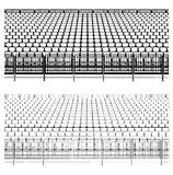 Assembling Structure For Sports Stadiums Vector 02 Stock Photos