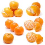 Assembling of Tangerines Stock Photos