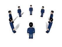 Assembly 3D Cartoon character Royalty Free Stock Photo