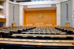 Assembly Hall:Palais des Nations/Palace of Nations Royalty Free Stock Photos