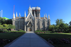 Assembly Hall, Temple Square Utah Royalty Free Stock Photo