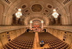Assembly hall UAM in Poznan Royalty Free Stock Images