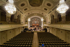 Assembly hall UAM in Poznan Royalty Free Stock Image
