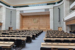 Assembly Hall in UN Geneva Royalty Free Stock Image