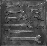Assembly keys royalty free stock images