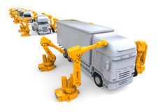 Assembly line Royalty Free Stock Photography