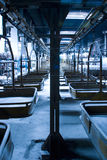 Assembly Line in Factory Stock Photo