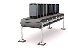 Assembly Line Smartphone Royalty Free Stock Image