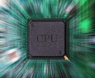 Assembly and maintenance cpu Stock Photos