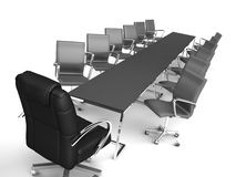 Assembly at office royalty free stock image